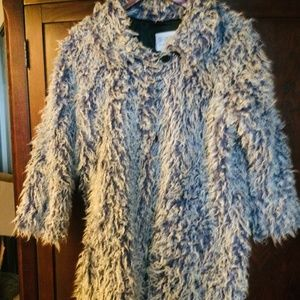 Vintage Girls size 10 chic fun coat by Misdemeanours